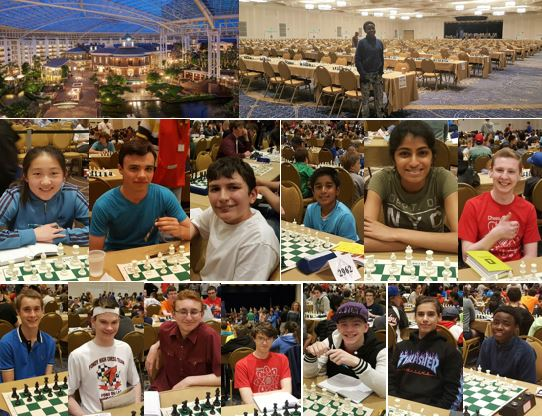 Largest Chess Tournament Ever In Nashville – May 2017